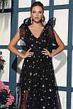 Эффектное вечернее платье макси, фото 3