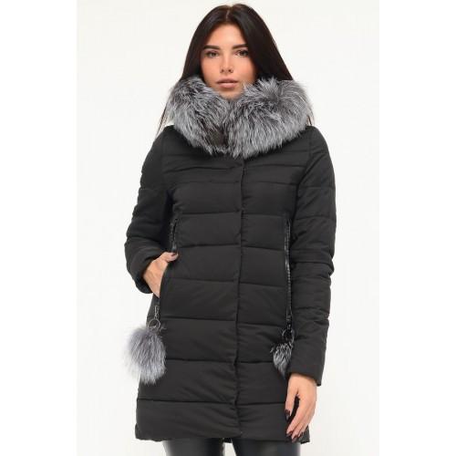 Зимняя куртка 636 Черный