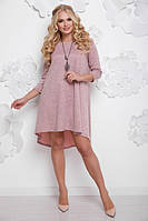 Платье большого размера СОЛНЫШКО фрес ТМ Lenida 50-56 размеры