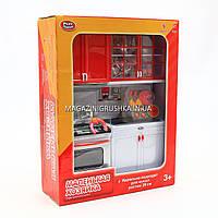 Детская мебель Кухня для кукол «Маленькая хозяйка» 2139 (свет, звук). Обустройте кукольный домик