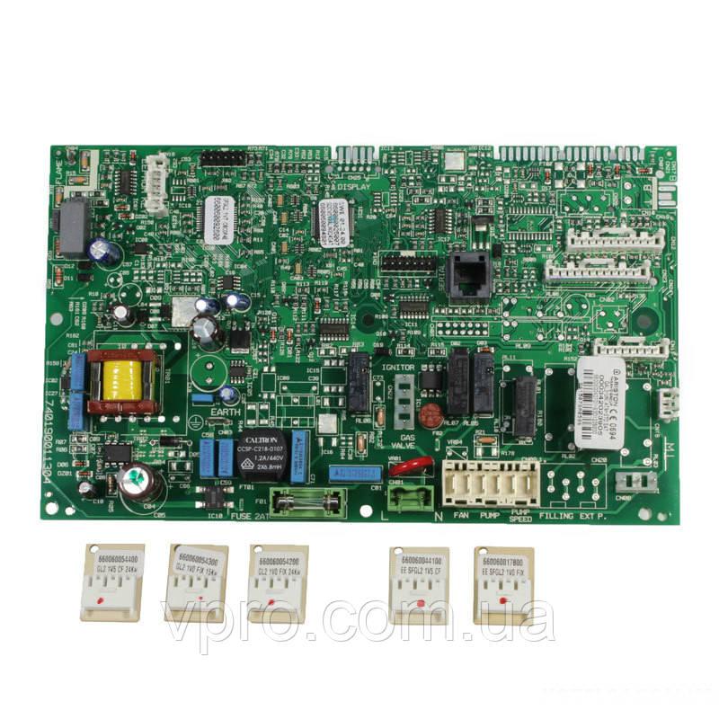 Плата управления Ariston Matis, Egis Plus, BS II ( с газовым клапаном SIT) - Art. 60001605-05