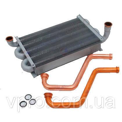 Теплообменник первичный газового котла Ariston Class 24/28 FF, Genus 24/28 FF, Class System  Art. 65104246