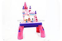 Детский конструктор столик аналог лего (lego) Замок принцессы арт. 3688В