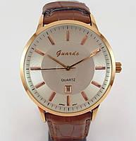 Часы наручные Guardo 008185-A золото с коричневым