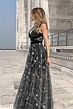 Вечернее платье-макси со звездами, фото 3