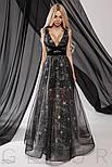 Вечернее платье-макси со звездами, фото 5