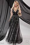 Вечернее платье-макси со звездами, фото 6
