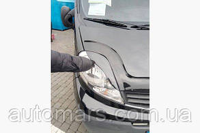 Реснички на фары Renault Trafic