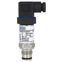 Перетворювач тиску WIKA S-11, 0..4 bar, G1/2В, 4-20mA, 2-L, 0.5%, -30...+100C