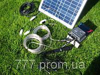 Электростанция Походная-мини на солнечных батареях, банк солнечной энергии для зарядки телефона, планшета 20W, фото 1