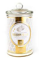 Свеча (арома) BONBONNIERE 55H Marron glacee  GLASS 459315-BLF