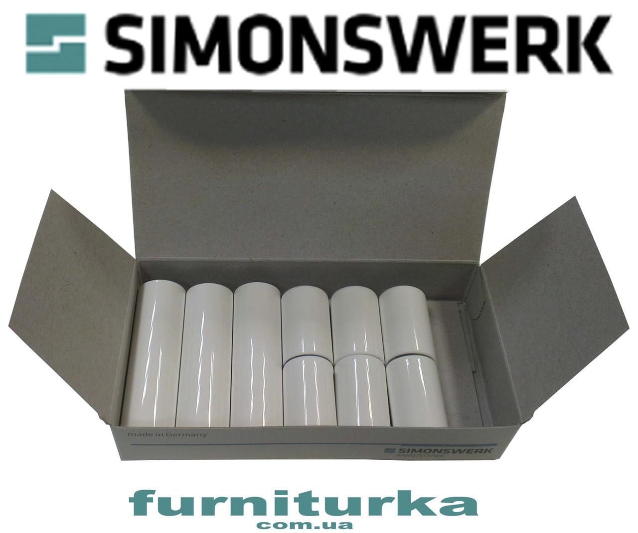 Декоративная накладка №12 на петлю SIMONSWERK серия BAKA 4000 (белая)