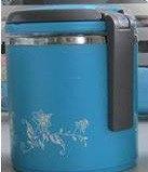 Термос пищевой ланч бокс пластиковый с железной колбой 1.5л C-122 Lunch Box