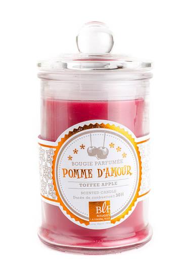 Свеча (арома) BONBONNIERE 30H Pomme damour GLASS 459210-BLF H9D6CM
