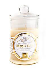 Свеча (арома) BONBONNIERE 30H Marron glacee GLASS 459230-BLF H9D6CM