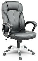 Кресло компьютерное офисное на колесиках Aego черное