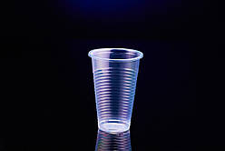 Одноразовый пластиковый стакан 200 мл, 100 шт