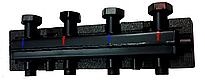 Разделитель (гидрострелка) Womix C60 4F DN 25 4-х контурный с теплоизоляцией