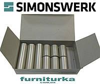 Декоративная накладка №12 на петлю SIMONSWERK серия BAKA 4000 (F2- никель матовый)