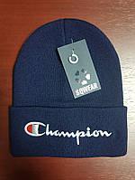 Зимняя шапка в стиле Champion | Топ качество!