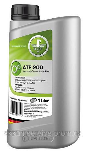 Полусинтетическая жидкость для автоматических трансмиссий REKTOL ATF 200 (1 L)