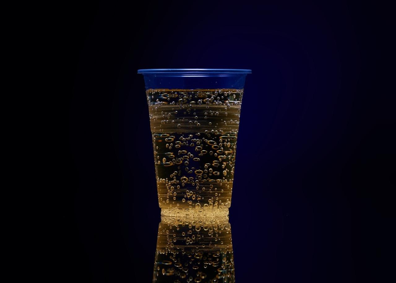 Одноразовый пластиковый бокал 480 мл