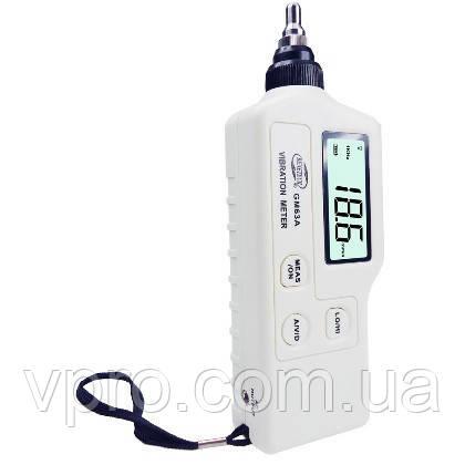 Цифровой Виброметр AR63A ( GM63A ) (0,1…199,9 м/с², 0,1…199,9 мм/с, 0,001…1,999 мм ) со сменными насадками