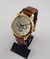 Часы мужские наручные Guardo 003103-A золото с коричневым