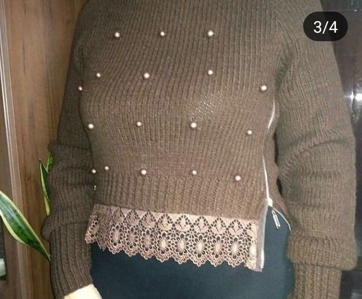 4c2f304da77 Женский вязаный свитер