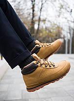 Мужские кроссовки на меху индастри рыжие , фото 2