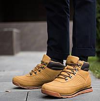 Мужские кроссовки на меху индастри рыжие , фото 3