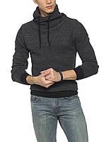 Серый мужской свитер LC Waikiki / ЛС Вайкики с воротником-хомут M