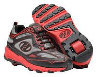 Роликовые кроссовки Heelys Swift 7855 (43, Красный)