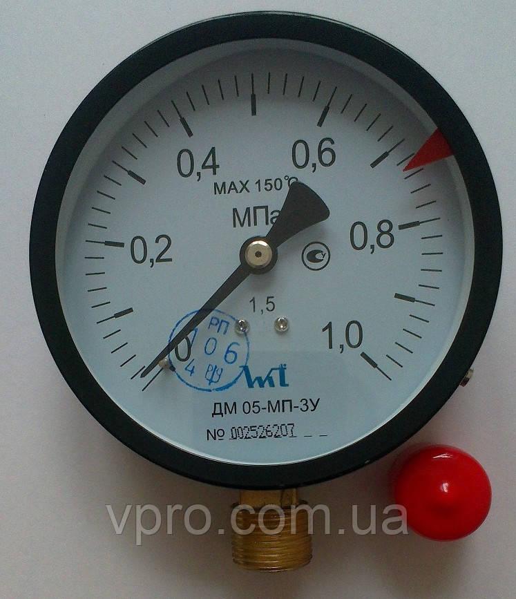 Манометр ДМ 05-МП-3У 1 МПа ТУ.У 33.2 - 14307481-031:2005