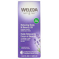 Weleda, Relaxing Body & Beauty Oil, Lavender Extracts, 3.4 fl oz (100 ml), фото 1