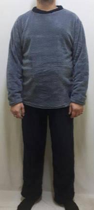 Пижама мужская махрова со штанами. Очень тёплая Размеры от 44 до 56,, фото 2
