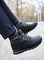 Мужские кроссовки на меху индастри сайн черного цвета, фото 3