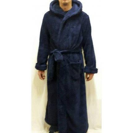 Махровый халат длинный мужской, банный Украина, размеры от 46 до 58, фото 2