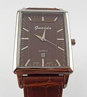 Часы наручные Guardo 006568-А серебро с коричневым