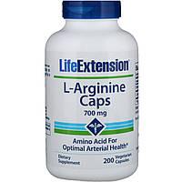 Life Extension, L-Arginine Caps, 700 mg, 200 Vegetarian Capsules