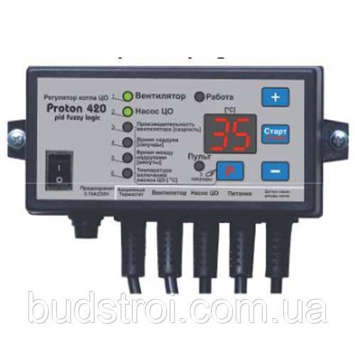 Автоматика для твердотопливных котлов Prond Proton 420PID