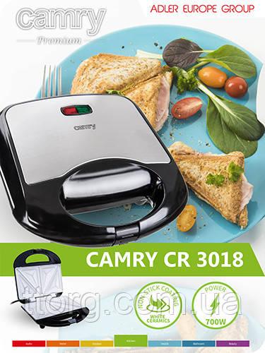 Сендвичница Camry cr 3018