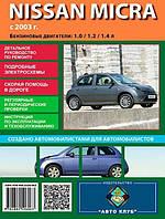 Книга Nissan Micra K12 Руководство по эксплуатации, обслуживанию и ремонту