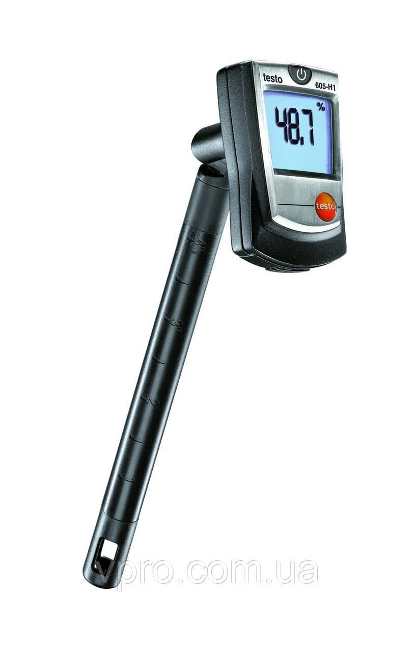 Термогигрометр Testo 605 Н1 (5…95 %; -10..+50 °C) Германия