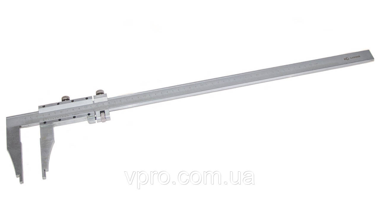 Штангенциркуль нониусный ШЦ-III-500 (500 мм; цена деленя 0,05 мм; губки 90мм)
