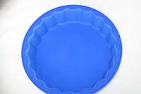 Силиконовая форма для пирога высокая, 98/87