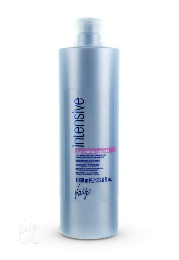 Шампунь для окрашенных волос Vitality's Intensive Color Therapy Shampoo - 1000мл