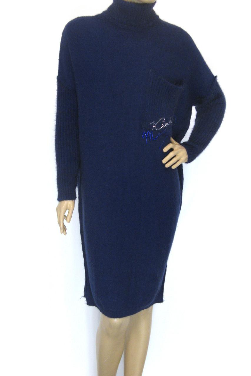 вязане тепле зимове плаття гольф Binka