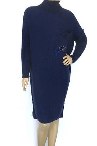 вязане тепле зимове плаття гольф Binka, фото 2