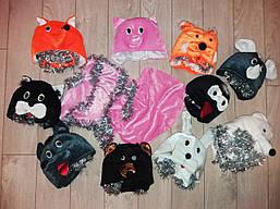 Детские карнавальные костюмы мышь,свинка,белка,лиса и т.д.
